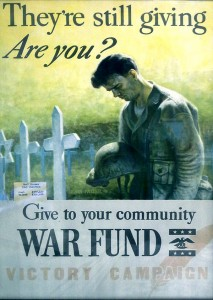United Way 1945 Poster