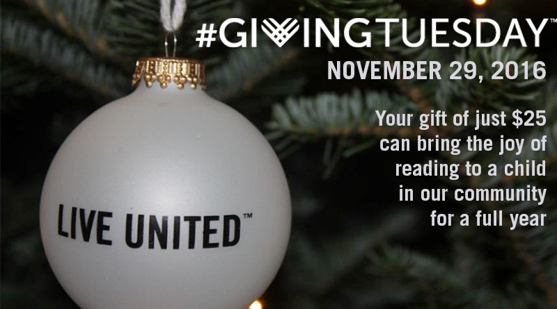 Give the gift of reading on #GivingTuesday