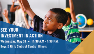 See Your Investment In Action - Education @ Boys and Girls Clubs of Central Illinois | Springfield | Illinois | United States