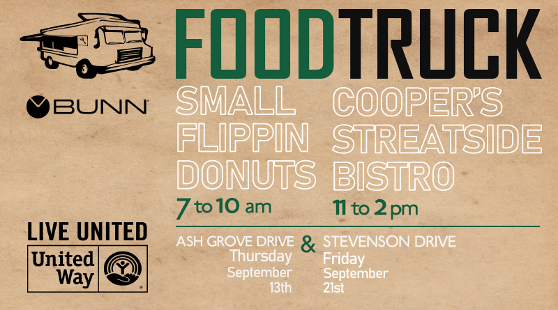 BUNN's Food Truck Fundraisers Benefiting United Way