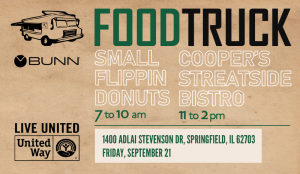 BUNN's Food Truck Fundraisers Benefiting United Way @ Bunn-O-Matic Corporation | Springfield | Illinois | United States