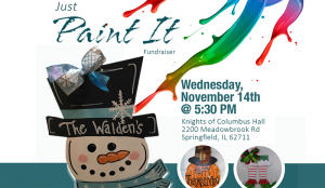 Just Paint It Fundraiser benefiting United Way @ Knights of Columbus