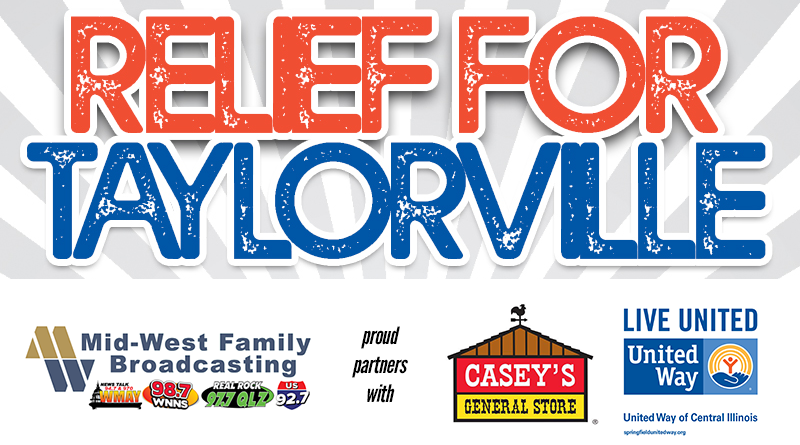 Relief for Taylorville – Tornado Relief Fundraiser to benefit the Missions for Taylorville Relief Fund