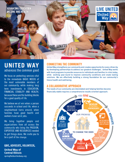 United Way Overview Flyer