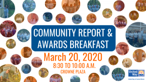 2020 Community Report and Awards Breakfast @ Crowne Plaza