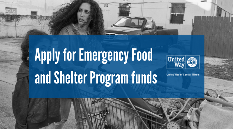 Apply for Emergency Food and Shelter Program funds