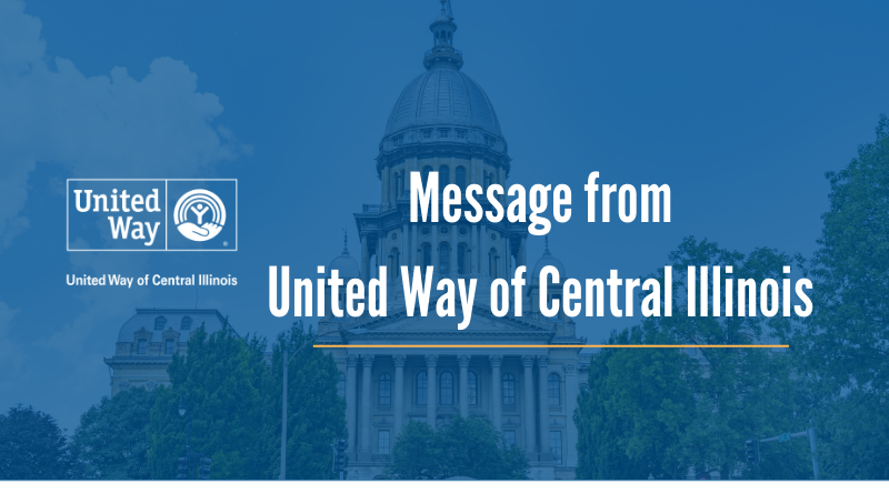 United Way of Central Illinois Statement