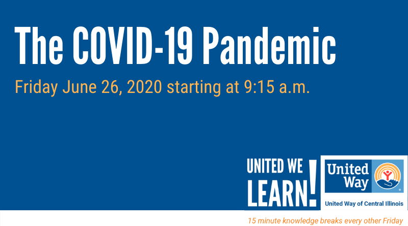 United We Learn Session: The COVID-19 Pandemic