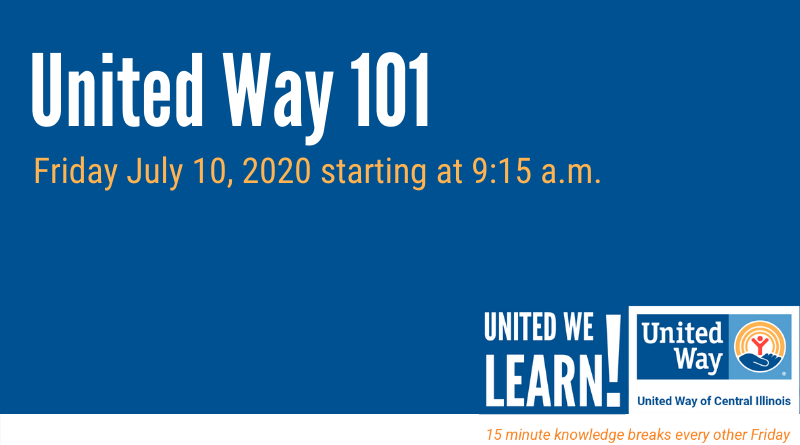 United We Learn Session: United Way 101