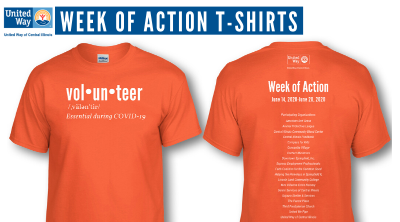 Week of Action T-Shirts