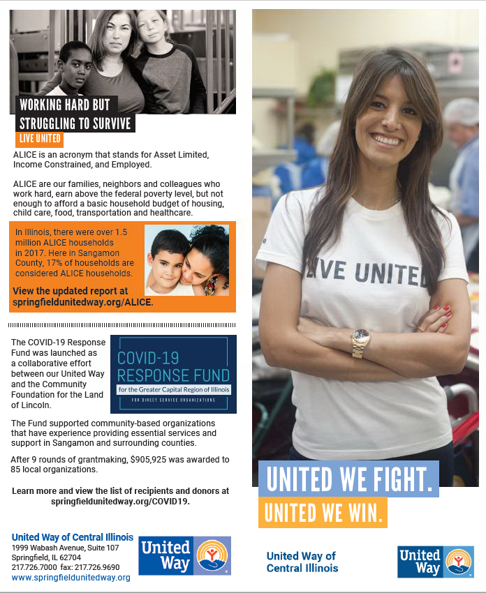United Way Brochure 2019