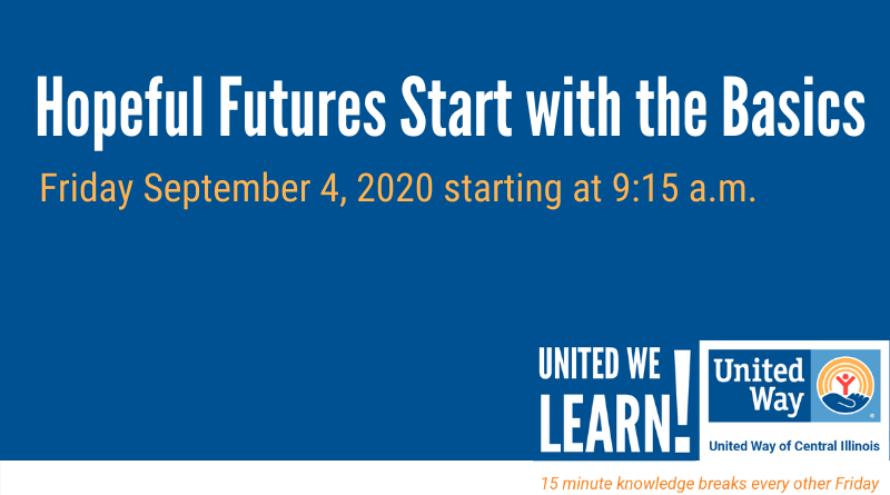 United We Learn Session: September 4, 2020