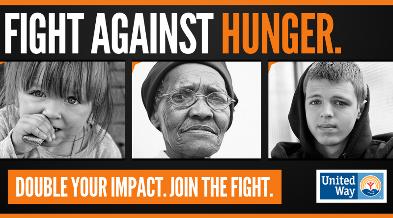 Double your impact. Fight against hunger.