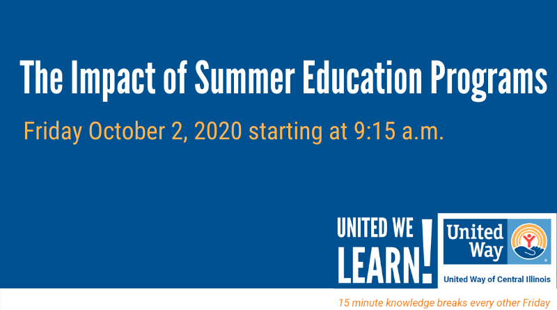 United We Learn Session- October 2, 2020