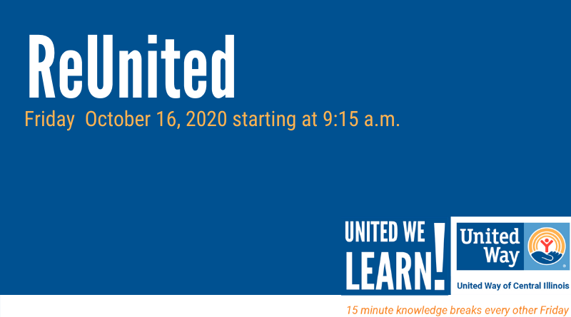 United We Learn Session: October 16, 2020