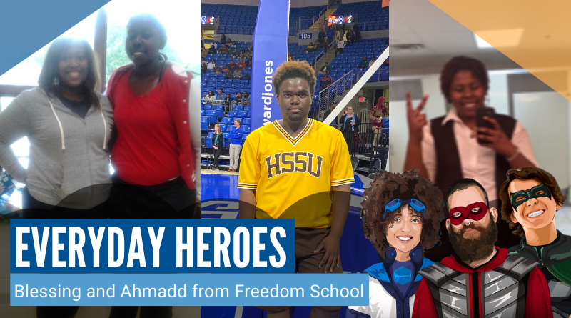 Everyday Heroes: Blessing and Ahmadd