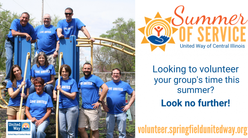 Summer of Service with United Way