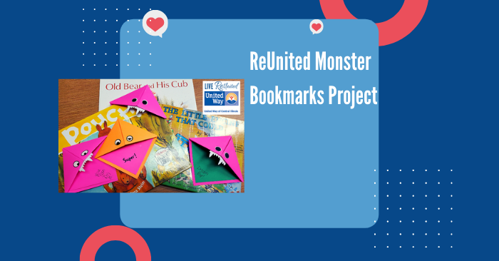 Day of Action: ReUnited Monster Bookmarks Project